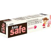 """Детская зубная паста """"Kids Safe Strawberry """" от Производителя Lion со вкусом клубники"""