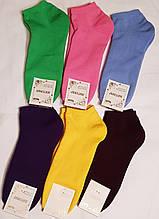 Житомирские махровые носки - женские короткие  23-25 размер