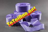 Лента шелк фиолетовая