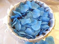 Лепестки роз Голубые