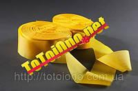 Лента шелк желтая