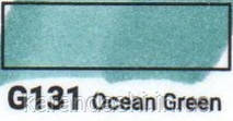 Маркер SKETCHMARKER долото-тонкое перо  G131 Ocean Green Зеленый океан