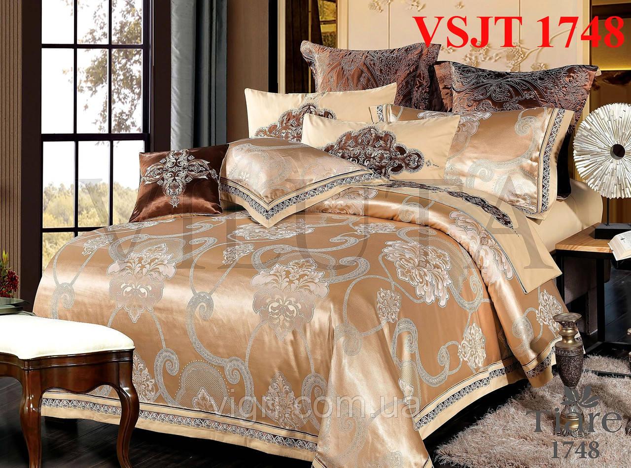 Купить постельное белье сатин жаккард Tiare Вилюта. VSJT 1748 по ... 69db24bfcee0d