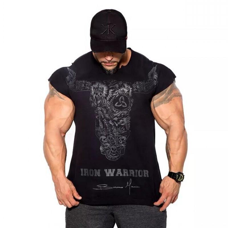 "Мужская футболка ""BULKING IRON WARRIOR"""