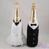 Украшение на шампанское №3