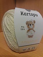 Летняя пряжа (49%-хлопок, 51%- акрил; 50г/ 130м) Kartopu Amigurumi К025
