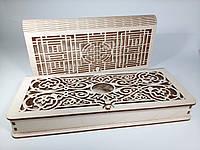 Дерев'яна сринька-купюрниця для грошей або подарунку