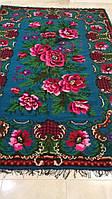 Килим тканий гуцульський квітковий ручної роботи 180*300 см
