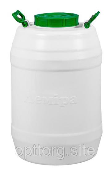 Бочка пластмассовая пищевая 60 л горловина 159 мм Лемира