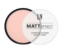 """Пудра компактная для лица """"LN professional"""" Matt Effect тон 104"""