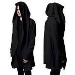 Мантия мужская черная под заказ от производителя, фото 2