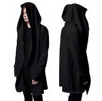 Мантия мужская черная под заказ от производителя(мужская мантия, черная мантия)