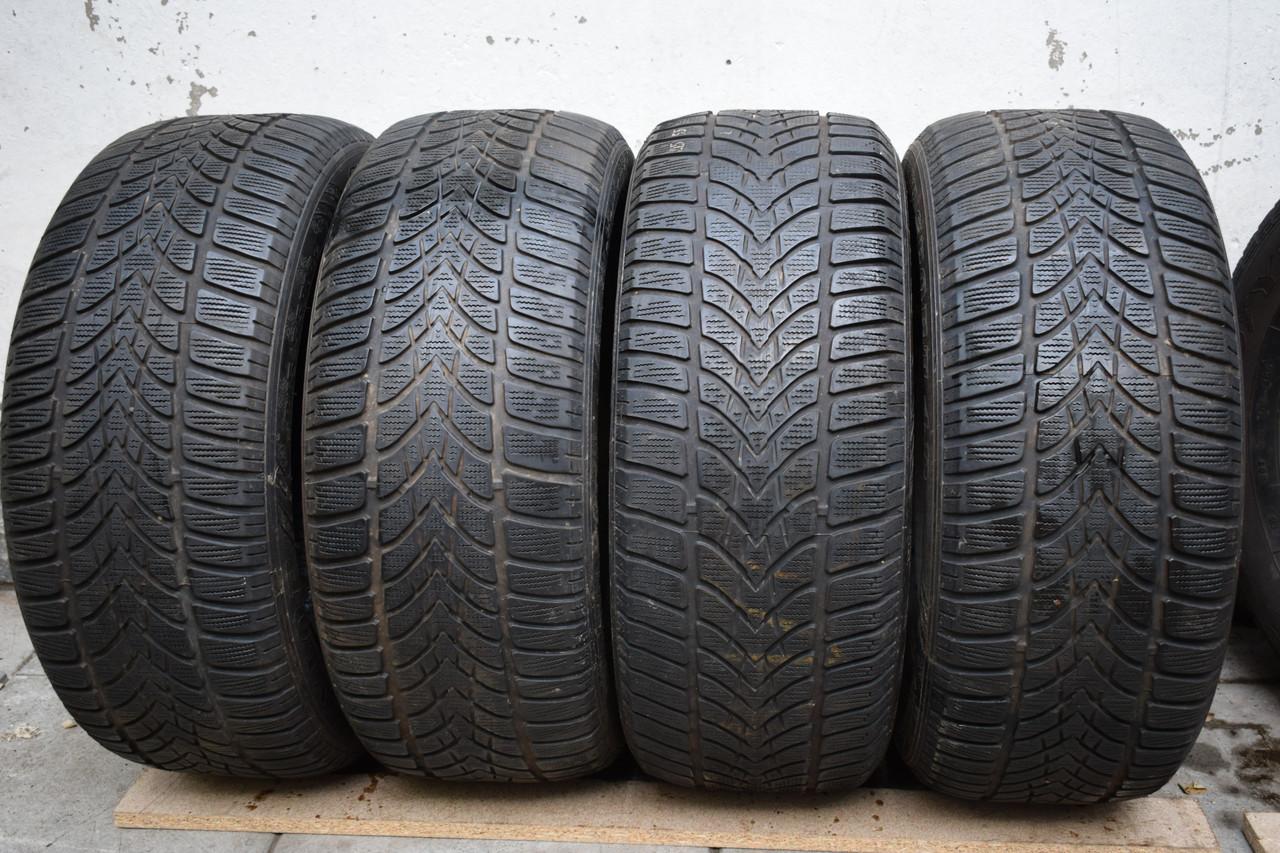 Шины б/у 215/55 R16 Dunlop ЗИМА, комплект
