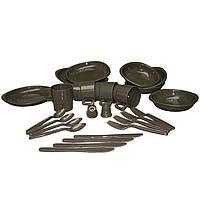 Туристический столовый набор на четыре персоны Mil-Tec TELLER (26 предметов) (14687000)