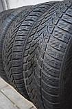 Шины б/у 215/55 R16 Dunlop ЗИМА, комплект, фото 4