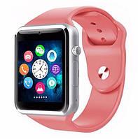 Умные часы А1 Smart Watch аналог Apple Watch/GT08 Розовый