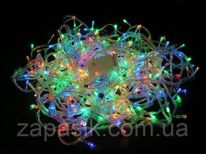 Внутренняя Новогодняя Гирлянда Нить на Елку 700 LED Лампочек в Ассортименте