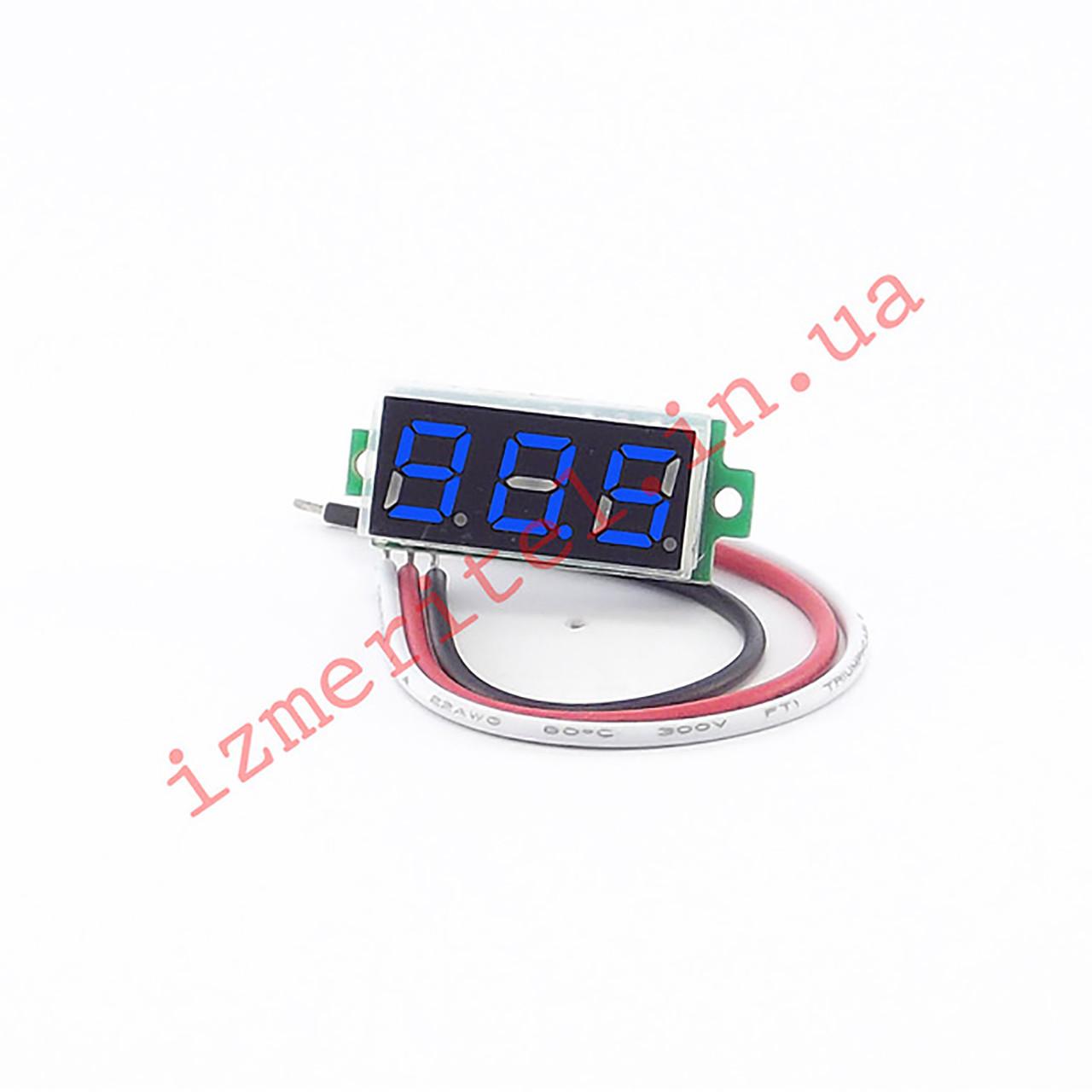 Цифровой вольтметр DC 0-500 В
