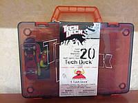 Фингерборд (скейт) + Кейс TECH DECK для хранения фингербордов (чемодан)