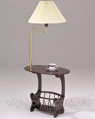 Журнальный столик с лампой., фото 2