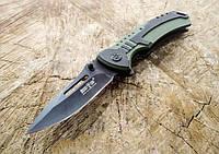 Складной карманный нож, оснащается съемной стальной клипсой
