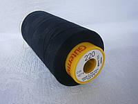 Нитки армированные A&E GUTERMANN Perma Core №120 5000м черный цвет (32002) акция
