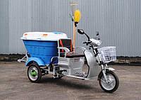 HERCULES e-Cleaner (48V650W) трицикл с передвижным муссортным баком