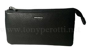 Кожаный клатч-портмоне Tony Perotti АРТ:2651-NCt Италия