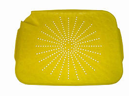 Пластиковый коврик-дуршлаг на раковину Голубой