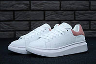 Женские кроссовки Alexander Mcqueen White/Pink , фото 1
