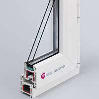 Вікно металопластикове REHAU Euro-Design 60