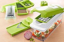 Универсальная кухонная овощерезка измельчитель| Мультислайсер | Найсер Дайсер плюс Nicer Dicer Plus (Реплика), фото 3