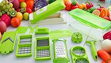Универсальная кухонная овощерезка измельчитель| Мультислайсер | Найсер Дайсер плюс Nicer Dicer Plus (Реплика), фото 2