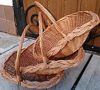 Набор плетеных корзин от производителя, фото 1