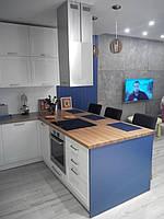 """Кухня """"Тоскана"""", фасады Ясень белый с текстурой"""