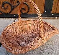 Корзина плетеная большая, фото 1