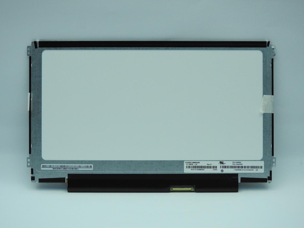 """New. Матрица 11.6"""" N116BGE-L32 slim (1366*768) Glossy"""