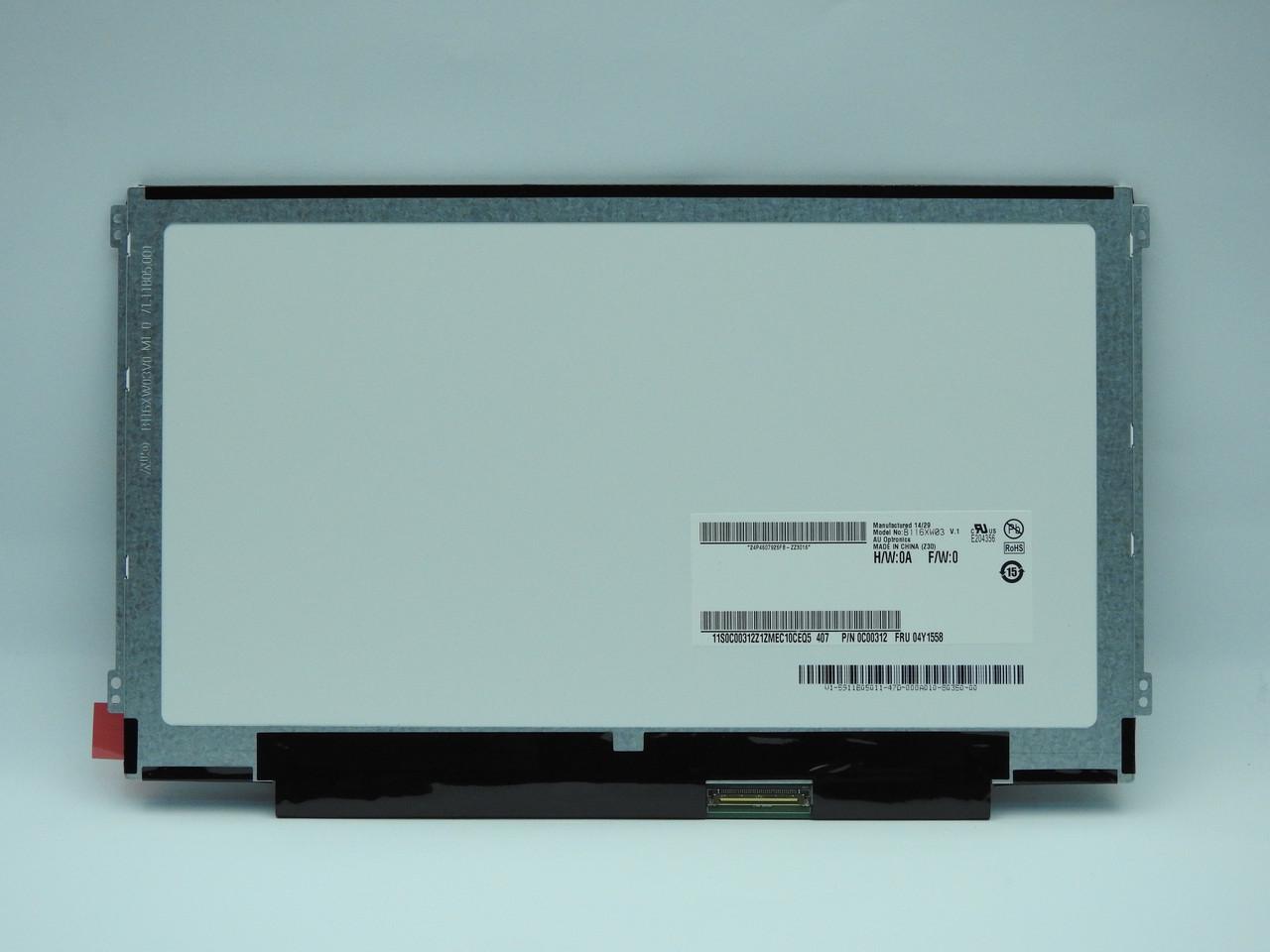 New. Дисплей AUO B116XW03 V1 HD AG F LED1 NB LCD