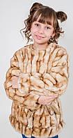 Элегантная, Выразительная, Демисезонная Куртка-Шубка Для Девочек из искусственного меха Silvian Heach Италия