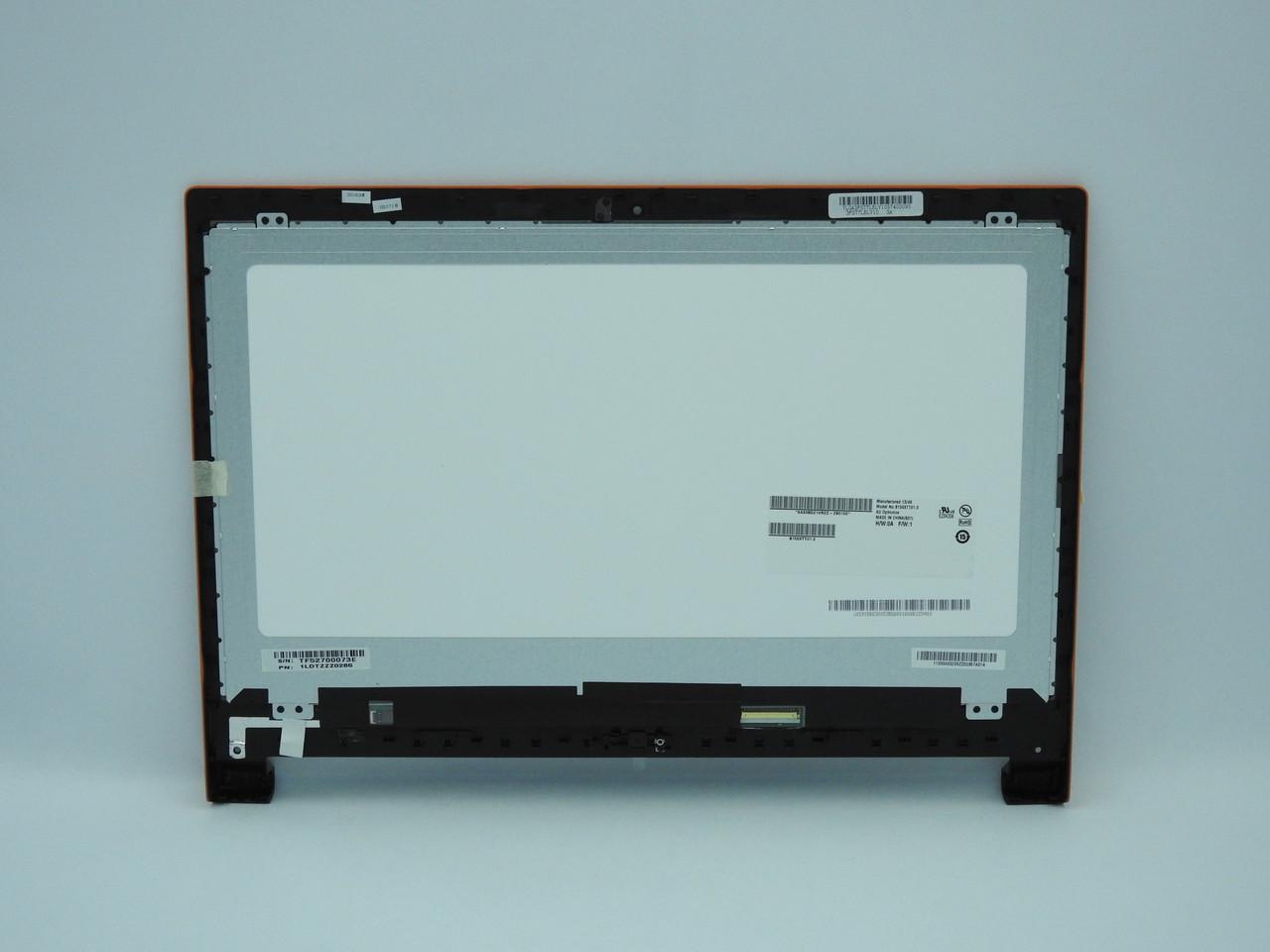 "New. Дисплей для ноутбука 15.6"" (ST7 LCD Module Orange W/Hinge-BK) Оранжевый"