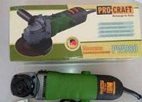 ☑️ Машина угловая шлифовальная Procraft PW- 980
