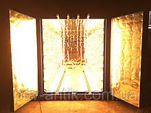 ИК печь полимеризации порошковых красок 3300х1600х2050
