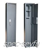 Сейф оружейный для 1-го ружья с кассой СО 110/1К