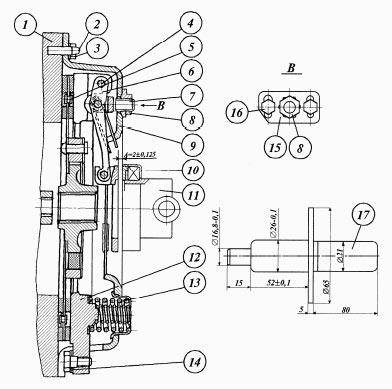 Муфта сцепления (корзина) МТЗ-320