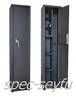 Сейф оружейный для одного ружья с кассой и полочками СО 132/1КП