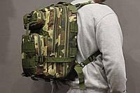 Тактический (городской) рюкзак Oxford 600D с системой M.O.L.L.E Woodland (ta25 Woodland) , фото 1