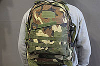Тактический (военный) рюкзак Raid с системой M.O.L.L.E woodland (601 woodland), фото 1