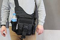 Городская универсальная сумка Silver Knight с системой M.O.L.L.E Olive (865 черная), фото 1