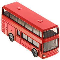 """SIKU металлическая модель """"Двухэтажный автобус"""", 1:87"""