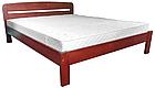 Ліжко односпальне з натурального дерева в спальню/дитячу Октавія С1(Бук)80*190 Неомеблі, фото 4